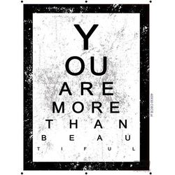 Obraz YOU ARE MORE THAN BEAUTIFUL PT164T2