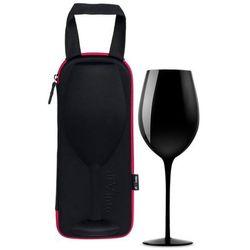 Gigantyczny kieliszek na wino w etui diVinto Black