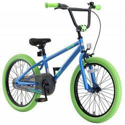 """Rower dla dzieci BMX 20"""" BIKE STAR GERMANY niebiesko zielony"""