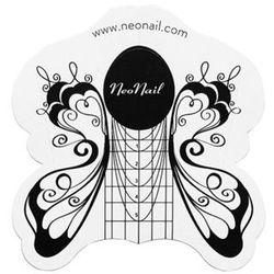 Neonail Szablon do przedłużania paznokci motyl 500 szt.