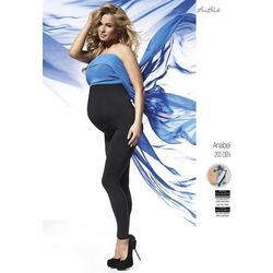 Bas bleu Legginsy anabel ciążowe 200 den polar rozmiar: 6-xxl, kolor: czarny/nero, bas bleu