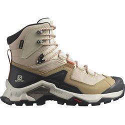 Salomon Quest Element GTX Shoes Women, beżowy/czarny UK 7,5 | EU 41 1/3 2021 Trapery turystyczne (0193128709976)