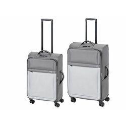 TOPMOVE® Zestaw walizek podróżnych, szary, 2 sztu (4055334037198)
