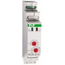 PCA-512 UNI Przekaźnik czasowy 1P 10A 0,1sek-576h 12-264V AC/DC opóźnione wyłączenie, PCA512