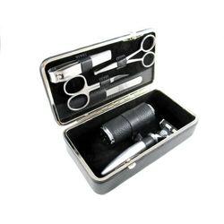 NAPPA BLACK - luksusowy, 6-częściowy zestaw do golenia i manicure, SOLINGEN-Kiehl, 5981021 505H