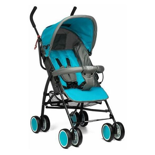 Wózek spacerówka Moolino Compact Niebiesko-szary, A811D