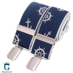 Szelki do spodni marynarskie br-045 marki David aster - made in england