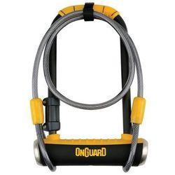 Zapiecie U-lock Onguard Pitbull DT 8005 z linką