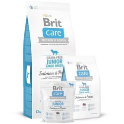 Brit care grain free junior large salmon 1kg (8595602510115)