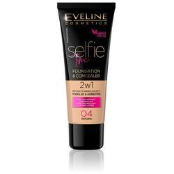 Eveline selfie time podkład 2w1 kryjąco-nawilżający nr 04 30ml (5903416001775)