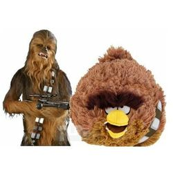 Angry birds Duża maskotka star wars 21cm pluszak chewbacca (0022286980418)