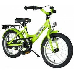 """Bikestar Rower dla dzieci 16"""" bike star germany klasyczny zielony (4260184711505)"""