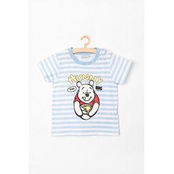 T-shirt niemowlęcy 5i36ay marki Kubuś puchatek