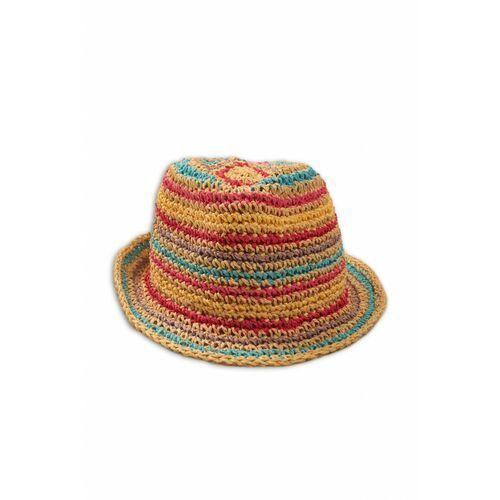 Kolorowy kapelusz dla dziewczynki 4x38a4 marki Minoti