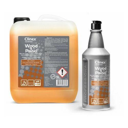 Clinex Wood&panel 5l - płyn do mycia podłóg laminowanych oraz drewnianych lakierowanych