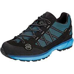 Hanwag belorado ii tubetec gtx buty kobiety, czarny/niebieski uk 4,5 | eu 37,5 2020 buty turystyczne