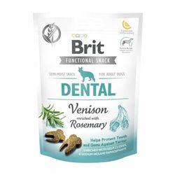 Brit przysmaki dla psów care dog functional snack dental venison 150 g (8595602539949)