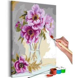 Artgeist Obraz do samodzielnego malowania - kwiaty w wazonie