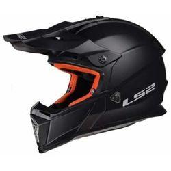 KASK LS2 MX437 FAST SOLID MATT BLACK, kolor czarny